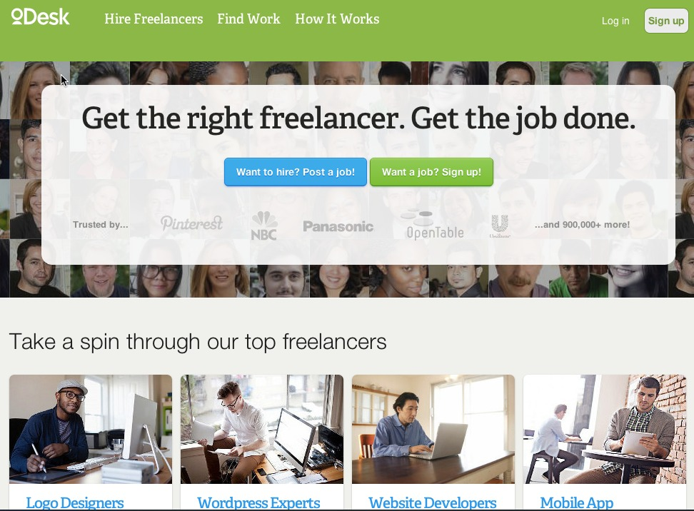 Get the right freelancer. Get the job done.